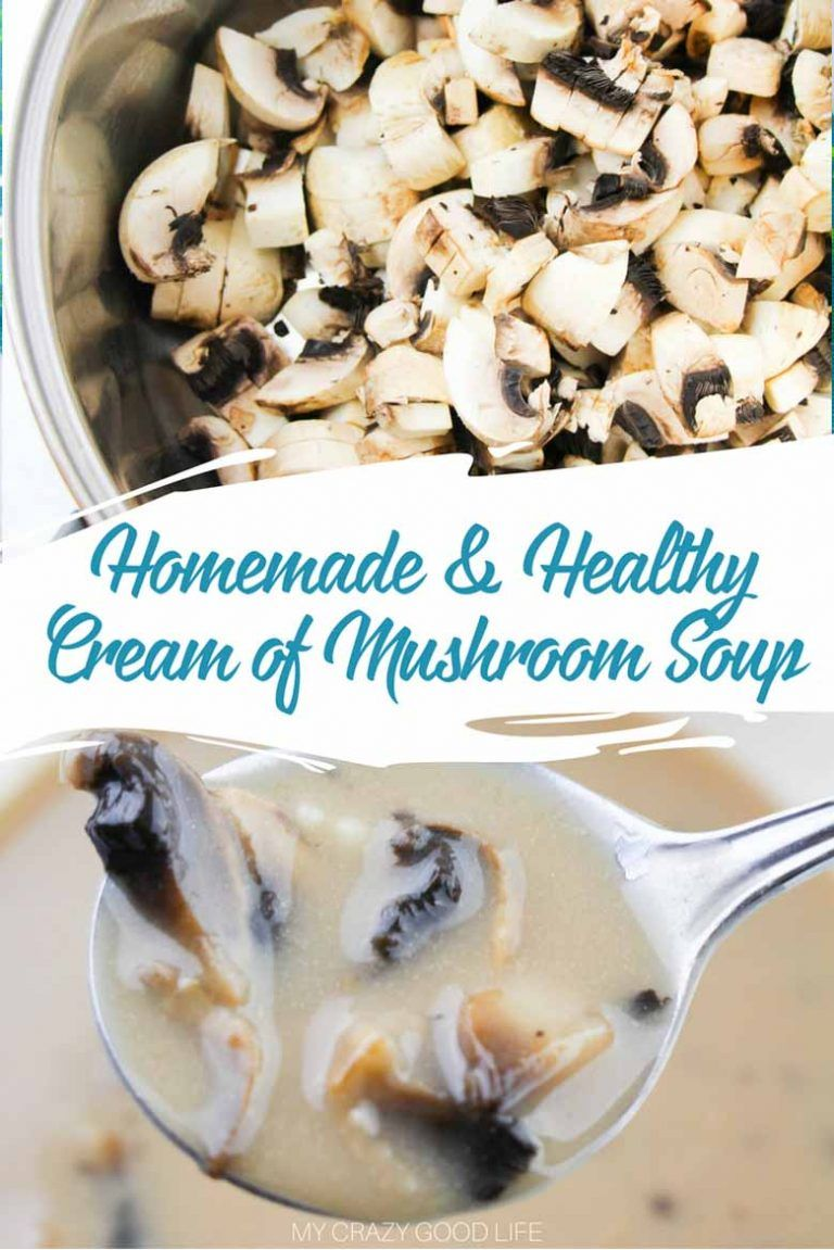 Creamy soups can be very unhealthy! This healthy cream of ...