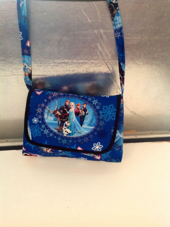 Frozen Messenger Bag by MaidenLongIsland on Etsy