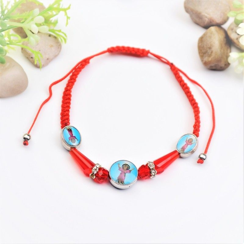 b3e88a23d2324 Divino Nino / Divine Child Red Thread Bracelet - 12 Pieces #PF1028 ...