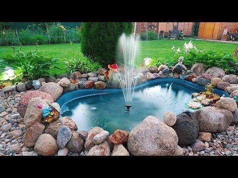 Small Creative Water Fountain Design Ideas Diy Outdoor Fountains Backyard Water Fountains Fountains Outdoor Backyard Water Feature