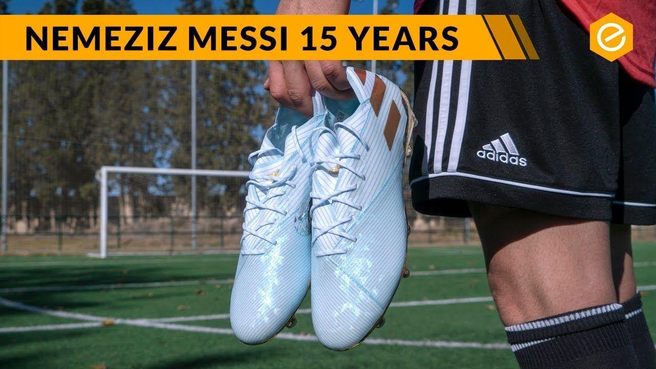 Regresa Comorama abajo  Las NUEVAS BOTAS de LEO MESSI - adidas Nemeziz Messi 19.1