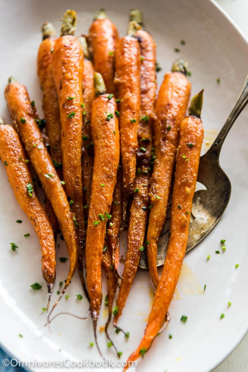 These Miso Glazed Carrots Are A Perfect Side For Your Dinner