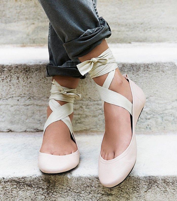18072d45e568 Meet the New Wave of Ballet Flats via  WhoWhatWear