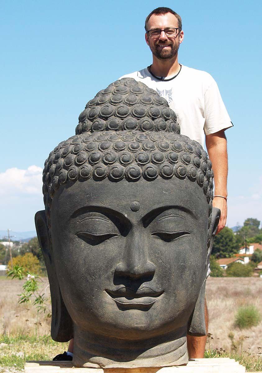 Large Garden Buddha Head Fountain 50 Statue Buddha Statue Buddha