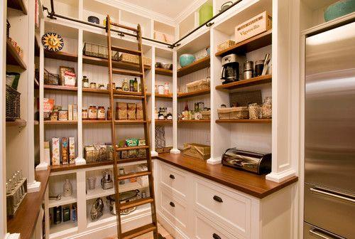Luxury Custom Built Pantry Cabinet