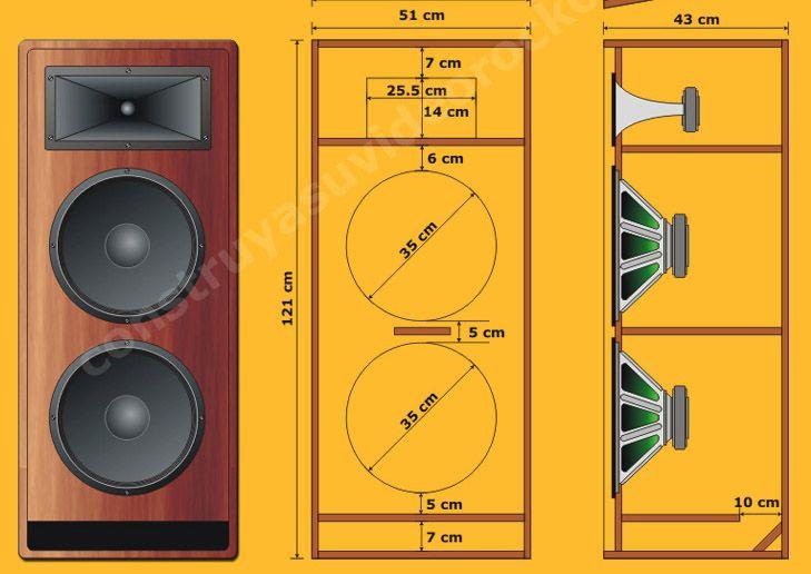 parlantes todo lo que necesitas saber speakers pinterest haut parleurs acoustique et. Black Bedroom Furniture Sets. Home Design Ideas