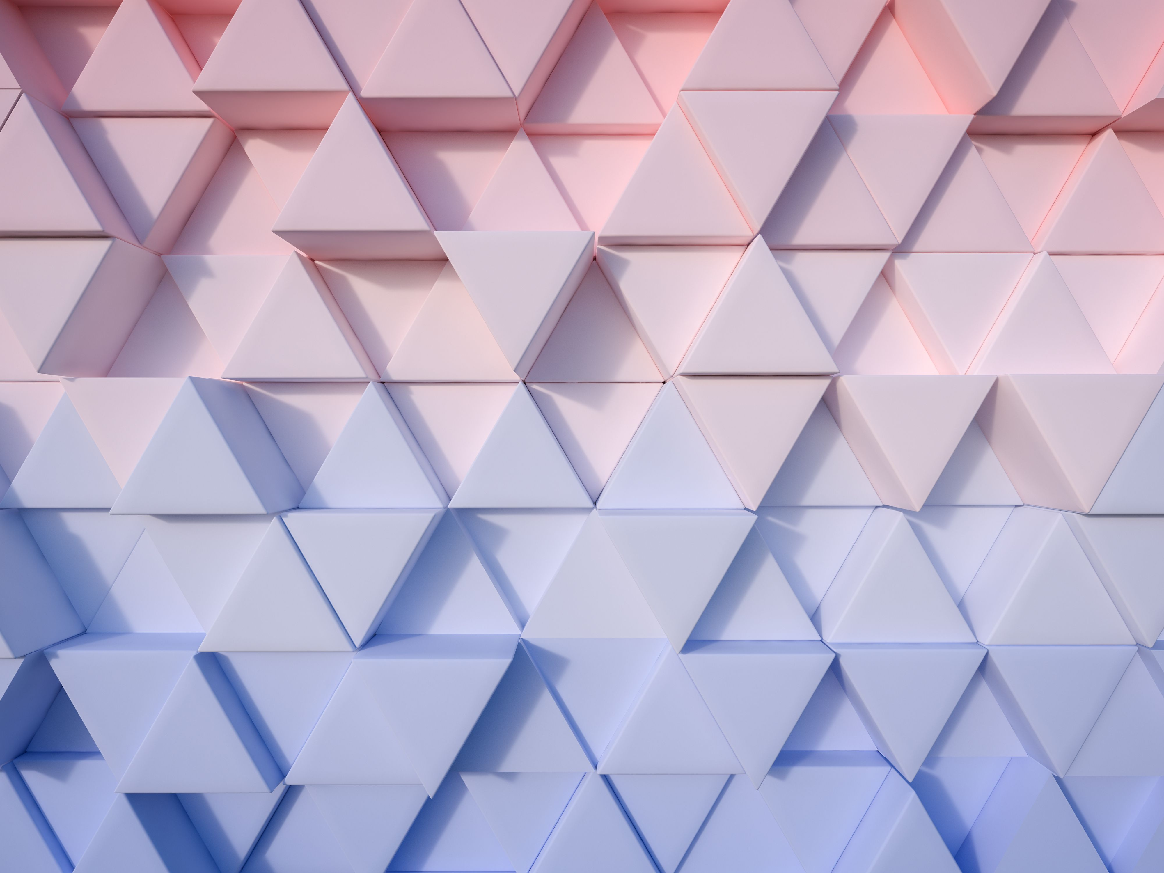 serenity blue and rose quartz abstract 3d triangle background rose quartz en serenity. Black Bedroom Furniture Sets. Home Design Ideas