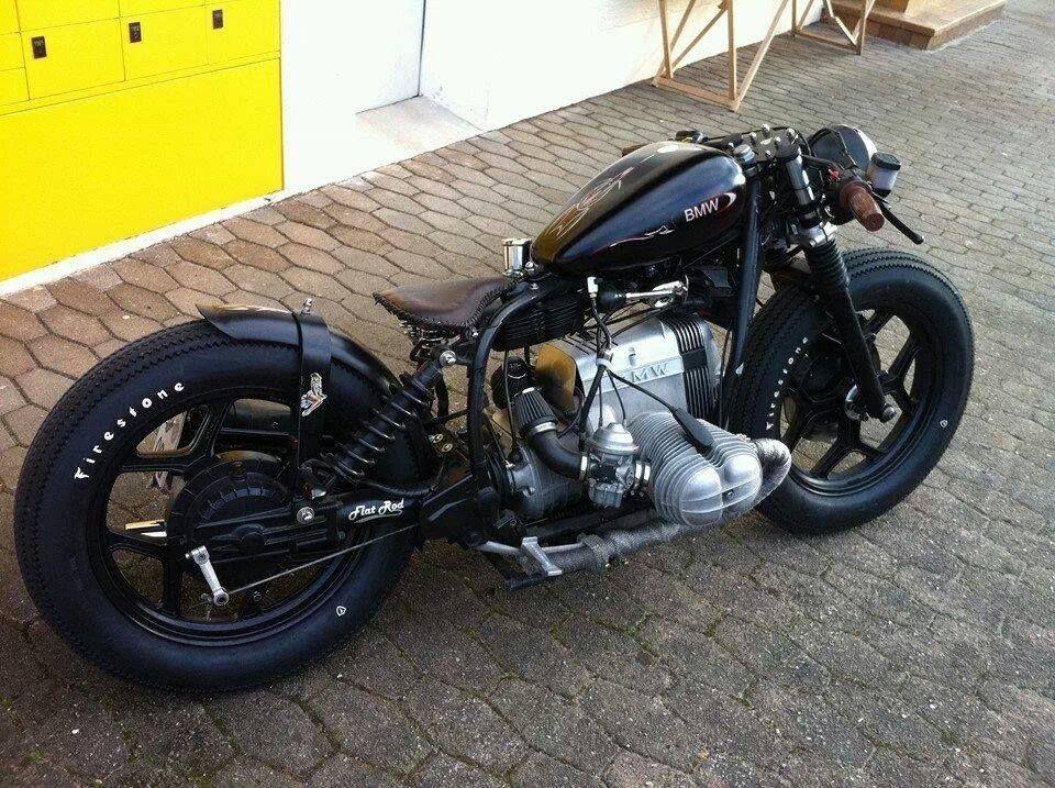 Bobber Motorcycle Bmw Cafe
