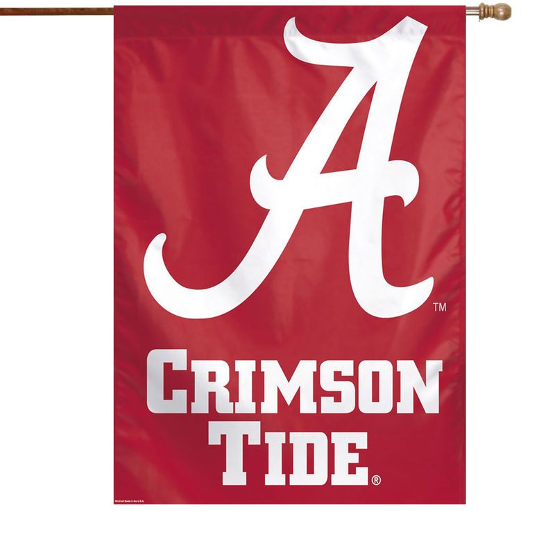Alabama Crimson Tide Wincraft 28 X 40 Primary Logo House Flag Alabama Crimson Tide Crimson Tide Alabama Crimson