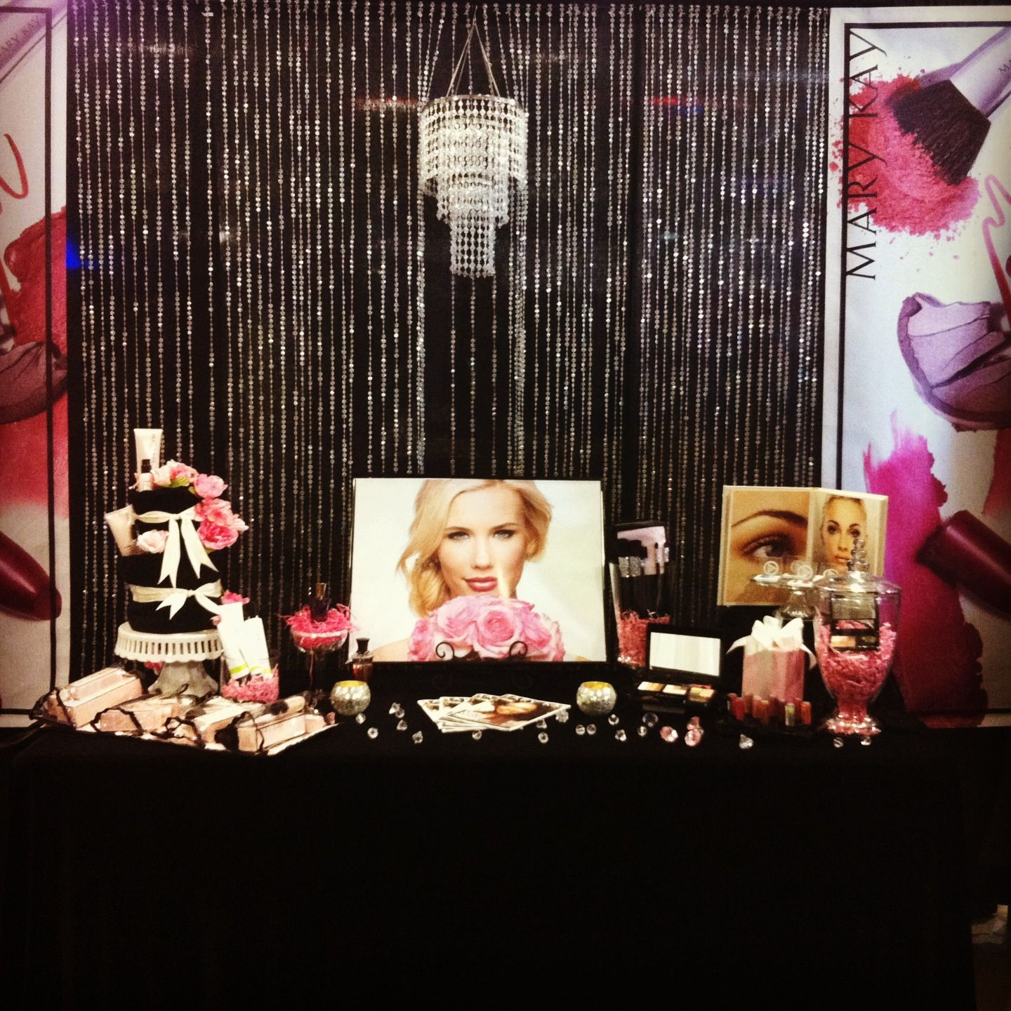 my mary kay expo booth design