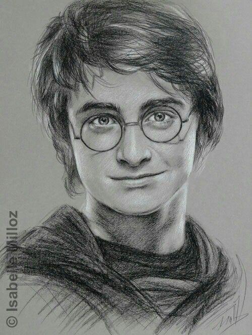 Harry Potter Disegno A Matita Art Nel 2019 Disegni A Matita