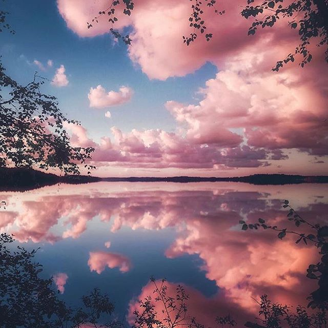 Cotton Candy Skies In Finland Photography By At Juusohd Lets