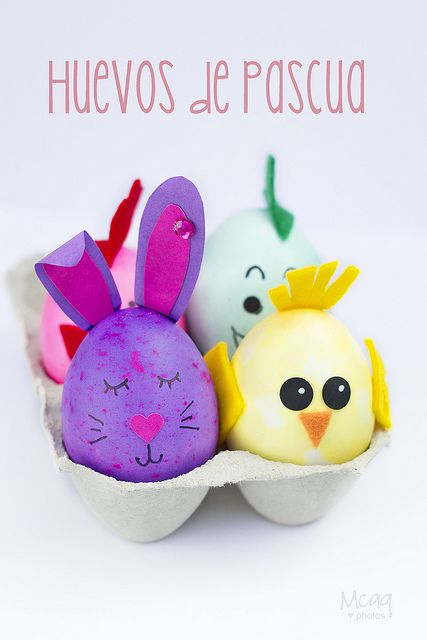 Huevos de Pascua Huevo, Cascarones y Huevos decorados - huevos decorados