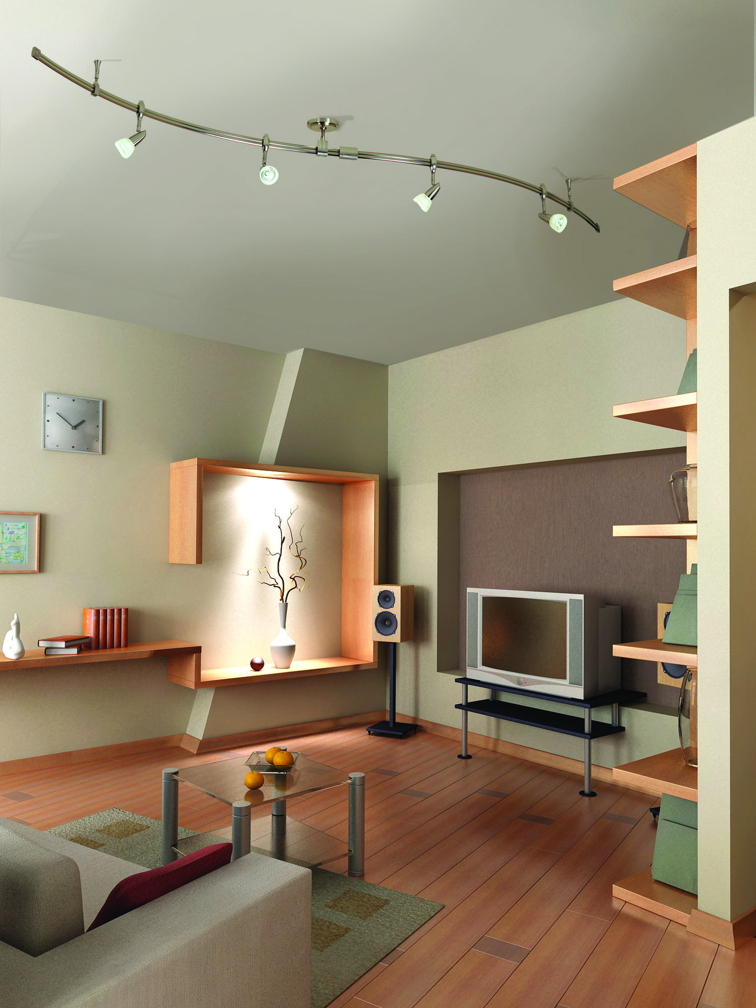 Creative 10 Ideas For Residential Lighting Pouted Com Living