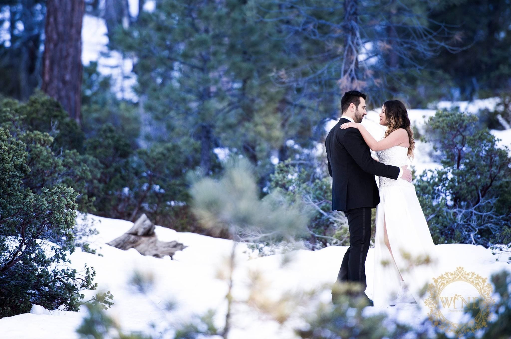 One of our beautiful bride. This gorgeous couple took our custom made tops to the snow and took these beautiful pictures after their wedding. Thank her for using our dress again   by @wind_productions #wedding #afterwedding #weddingdress #weddinggown #weddingfashion #bride #formerbride #bridetobe #soontobebride #marriage #truelove #love #bridal #bridaldress #bridalfashion #custommadedress #custom #hautecouture #hautecouturedress #hautecouturewedding #beverlyhills #bridesbyliza