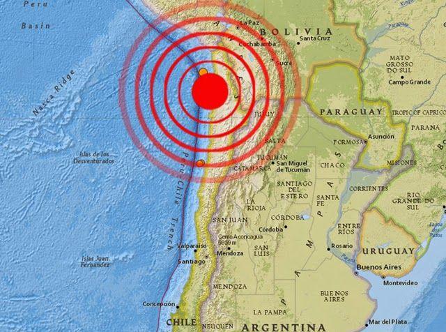 Strong 6.0 Magnitude Earthquake Strikes Southwest Of ...