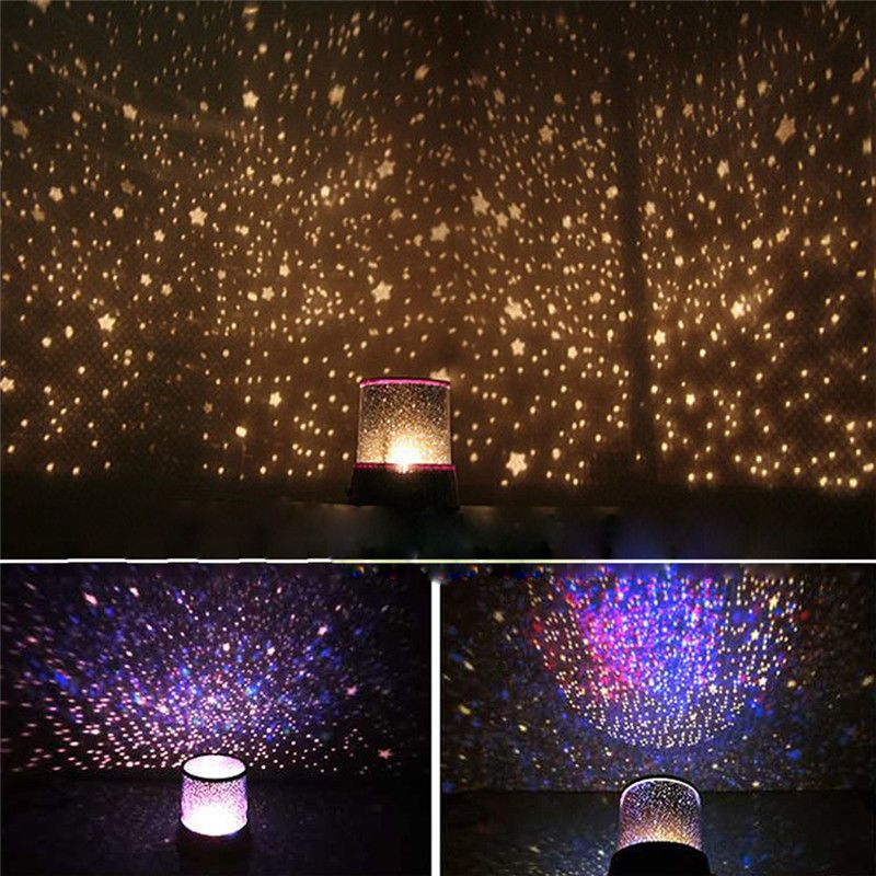 14 Rotating Galaxy Projector Night Light Ceiling Lamp Stars Moon Cosmos Sky Ebay Home Garden Star Lamp Starry Ceiling Star Projector Lamp