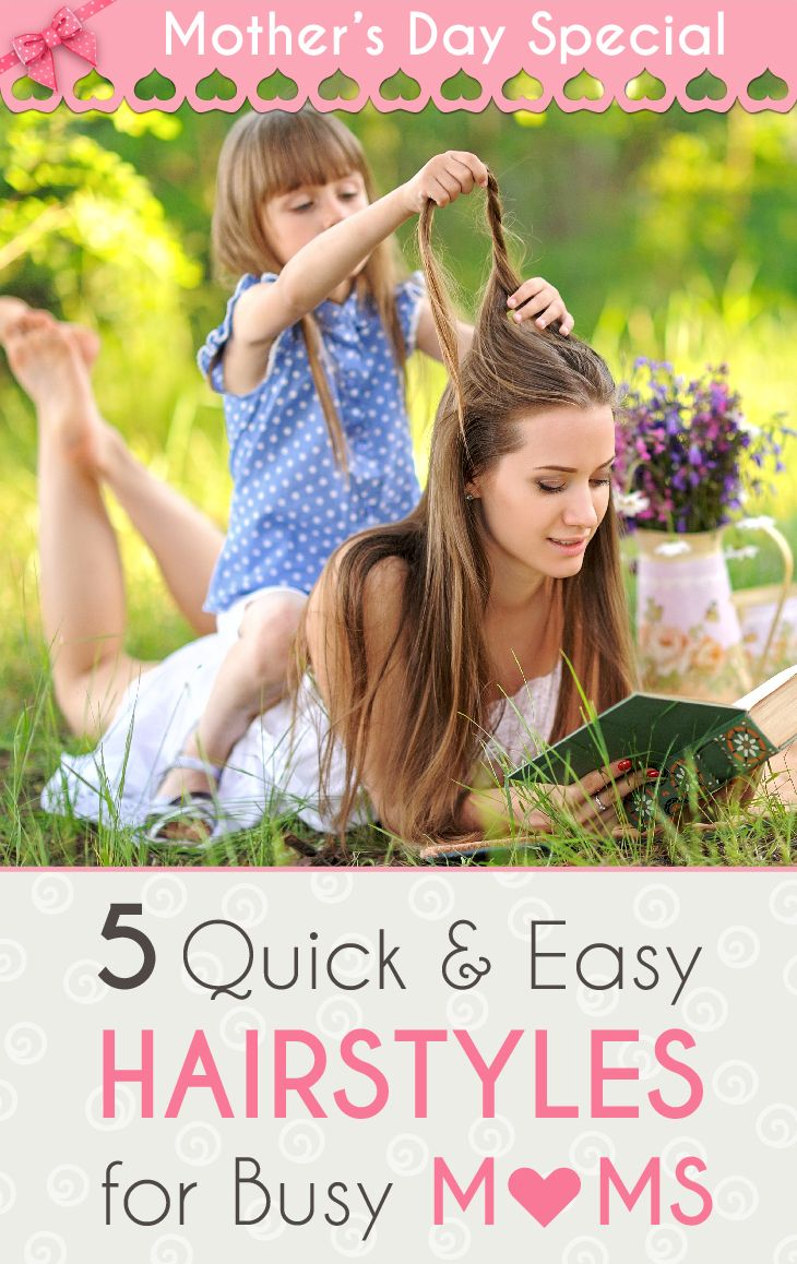 Quickie wedding ideas  Motherus Day Special   Quick and Easy Hairstyles for Busy Moms