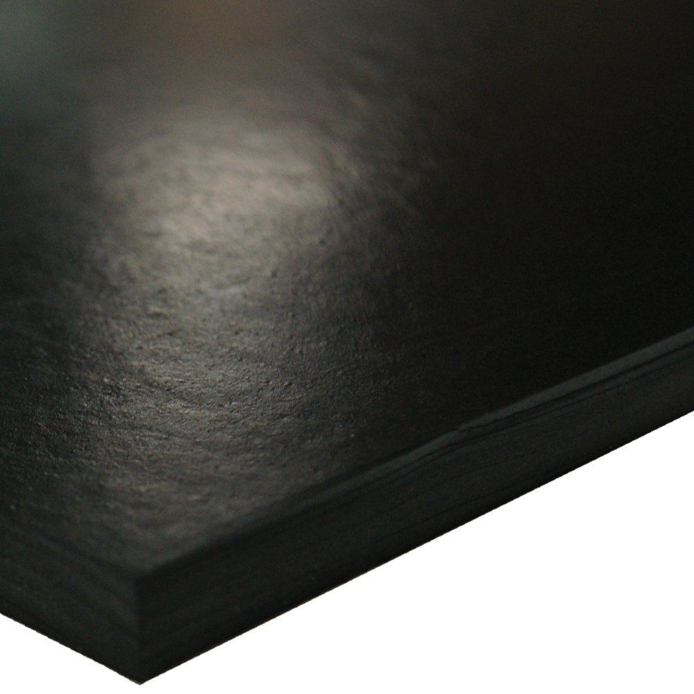 Sbr Styrene Butadiene Rubber Sheet 70 Shore A Black Smooth Finish No Backing 1 2 Thickness 6 Width 6 Length Styrene It Is Finished Smooth Finish