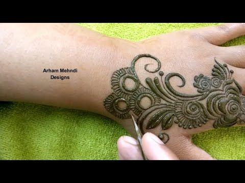 arham mehndi mehandi design arabic front hand