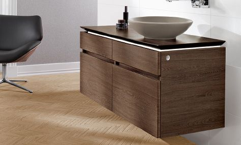 Villeroy and Boch LEVANTO Vanity Unit Bathroom Vanities - villeroy und boch badezimmerm bel