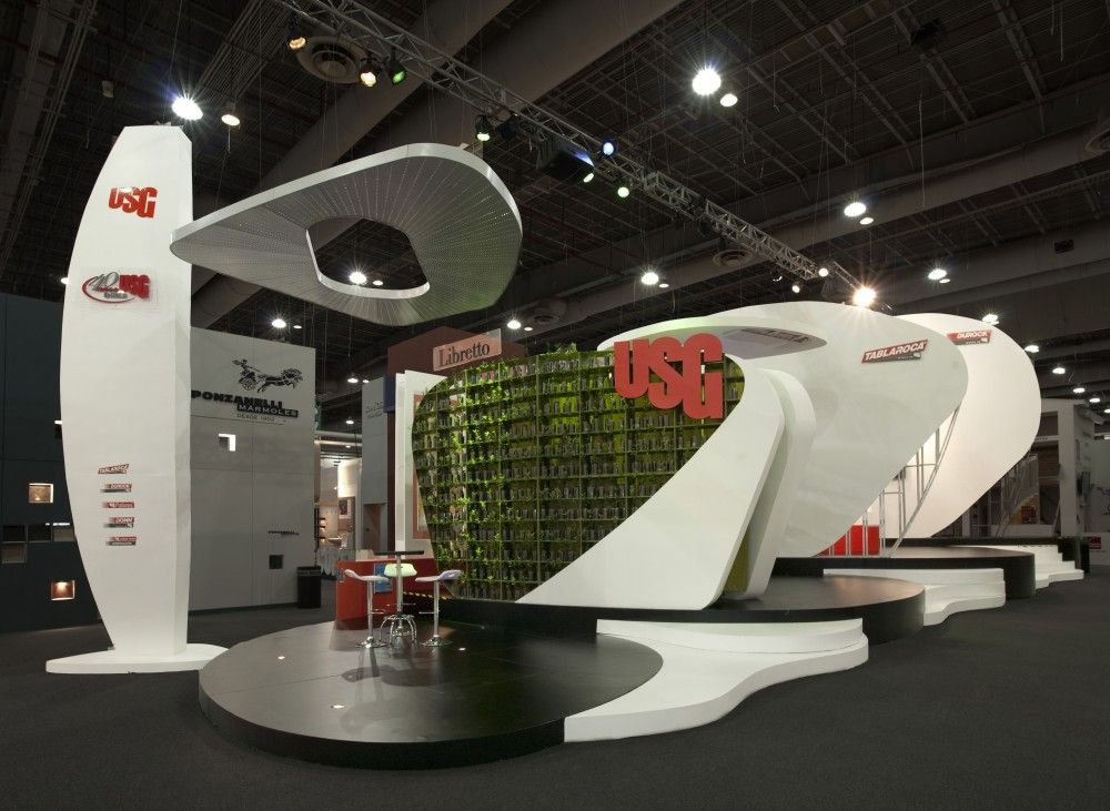 Expo Exhibition Stands Election : Usg stands expo cihac architecture