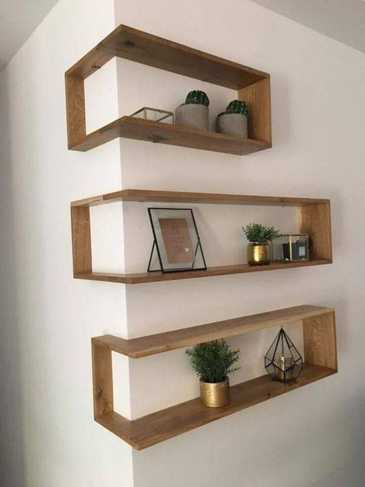 Photo of Franklin Shelf – Solid Wood Corner Shelf