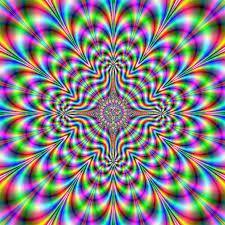 Imagem Psicodélicas coloridos