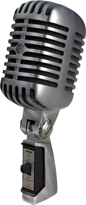 The Elvis Mic Shure 55SH Series II Iconic Unidyne Vocal Microphone