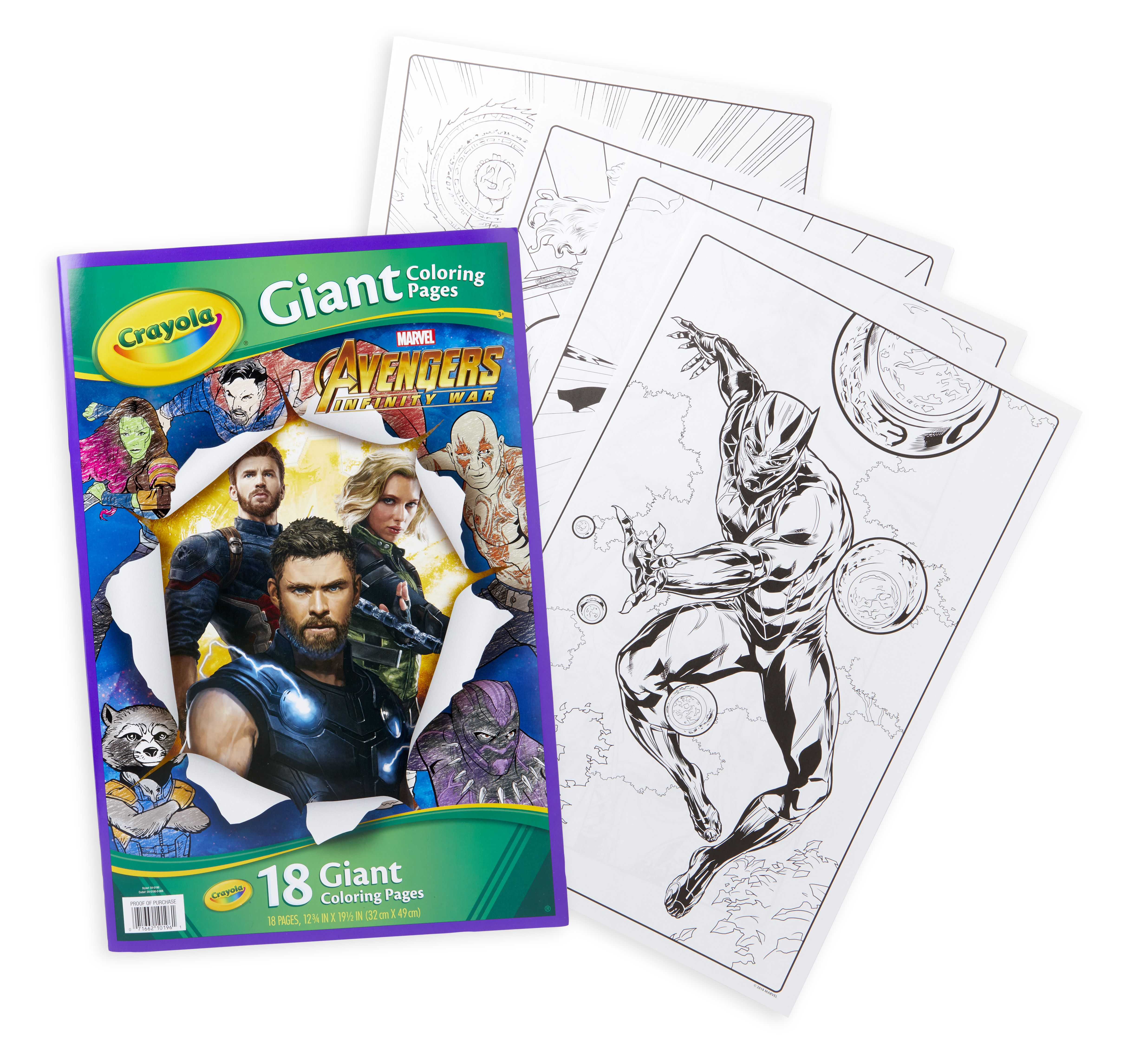 Crayola Avengers Giant Coloring Pages 18 Sheets For Ages 3 Walmart Inventory Checker Detailed Coloring Pages Barbie Coloring Pages Unicorn Coloring Pages