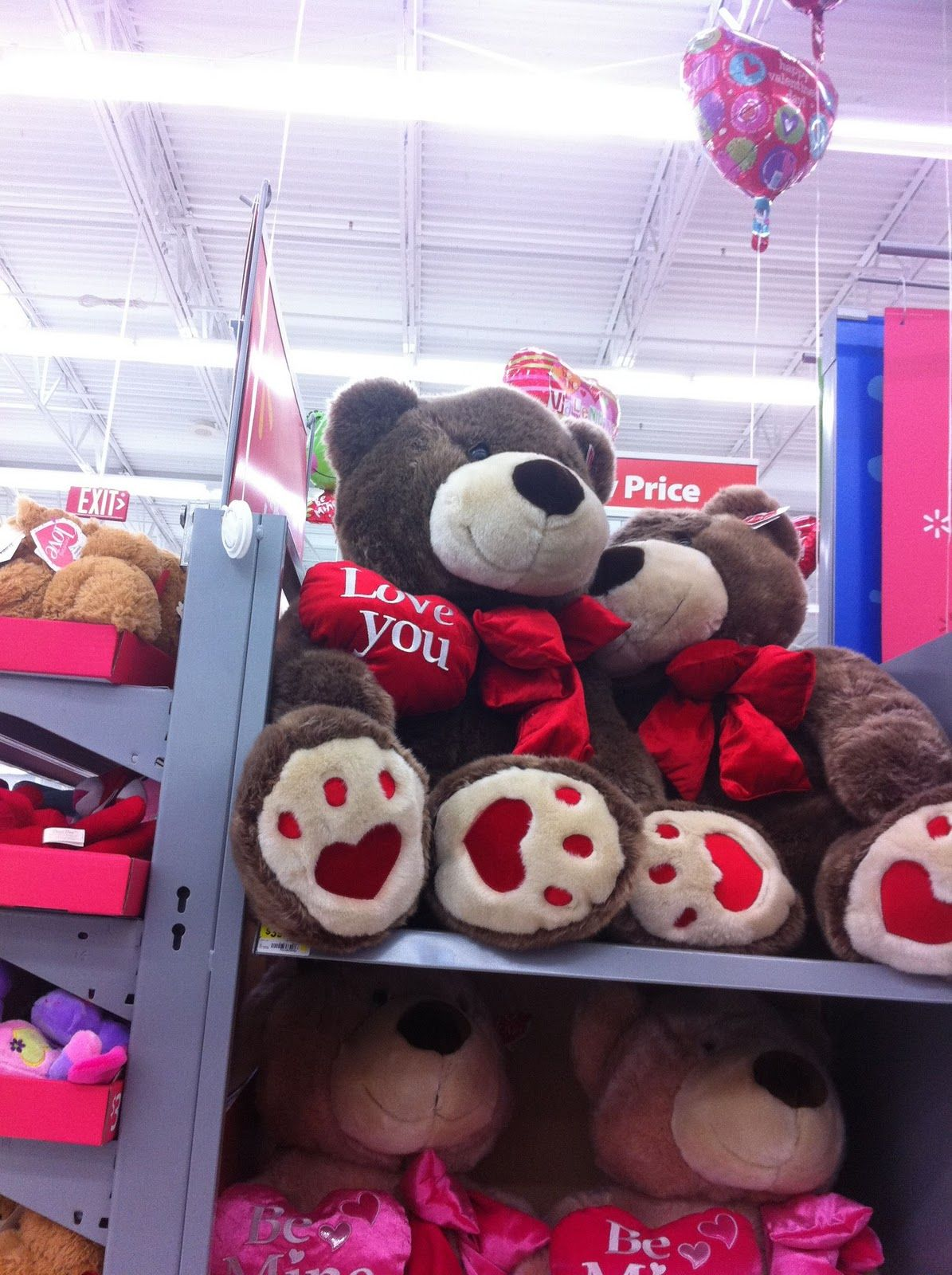 Big Teddy Bears For Valentines Dayvalentinesdayclipart – Walmart Valentine Cards