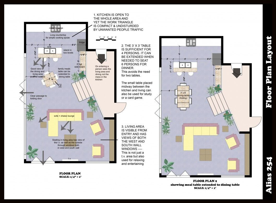 Architecture Floor Plan Creator With Free 3d Software For Kitchen