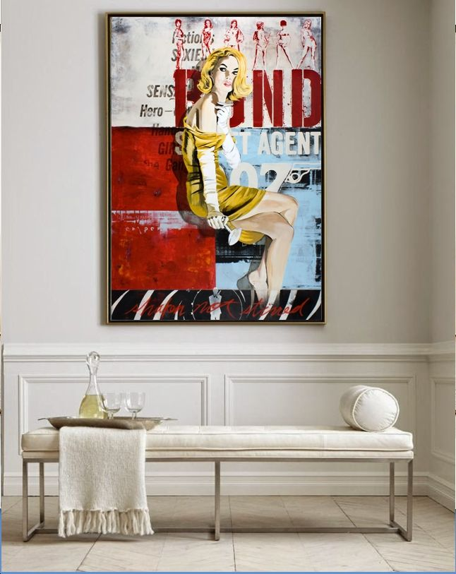 Pin By Valorie Hart On Art In Homes Home Art Condo Decorating Colorful Interiors