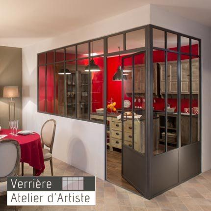 atelier d artiste lance les 1 res verri res d int rieur. Black Bedroom Furniture Sets. Home Design Ideas