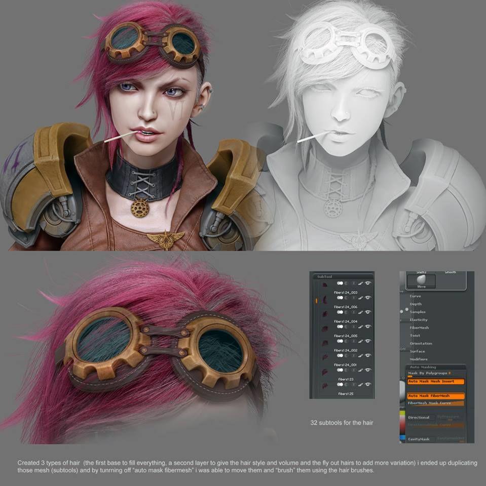 Zbrush_League Of Legends_Breakdown2