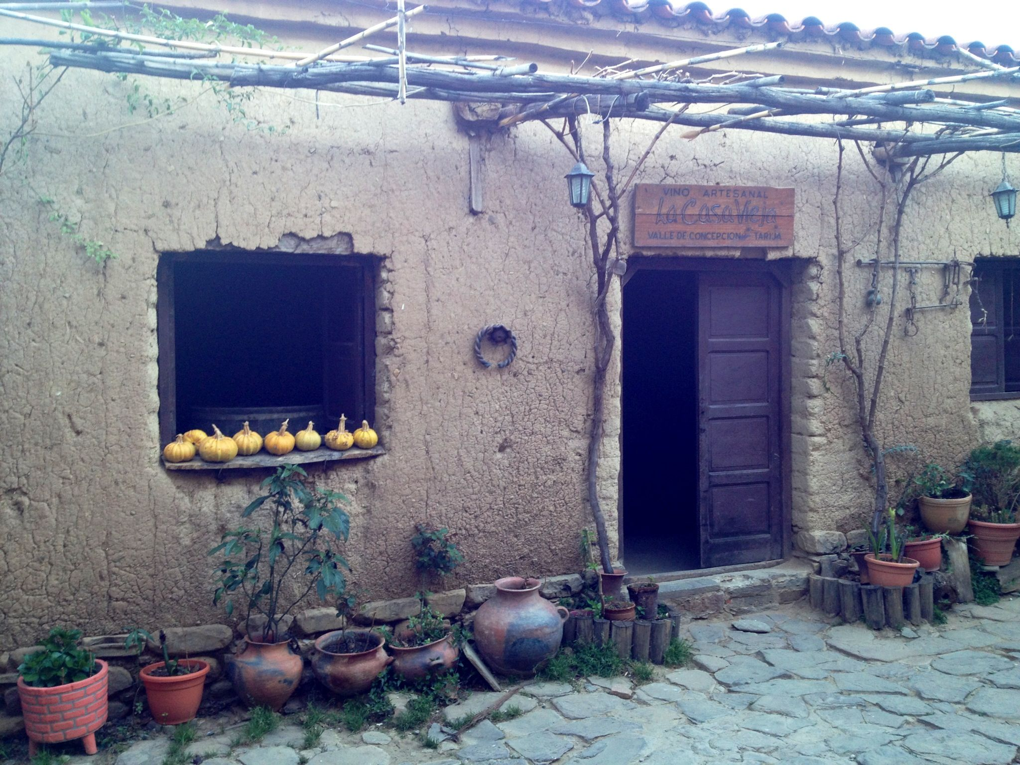 Casa Vieja, el Valle. Municipio de Uriondo, Tarija Bolivia