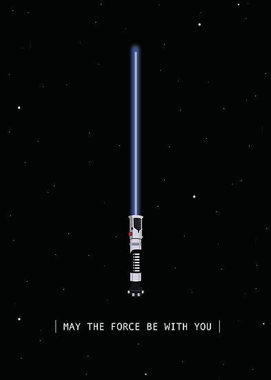 May The Force Be With You Poster By Christinativity In 2020 Star Wars Wallpaper Iphone Star Wars Wallpaper Star Wars Background