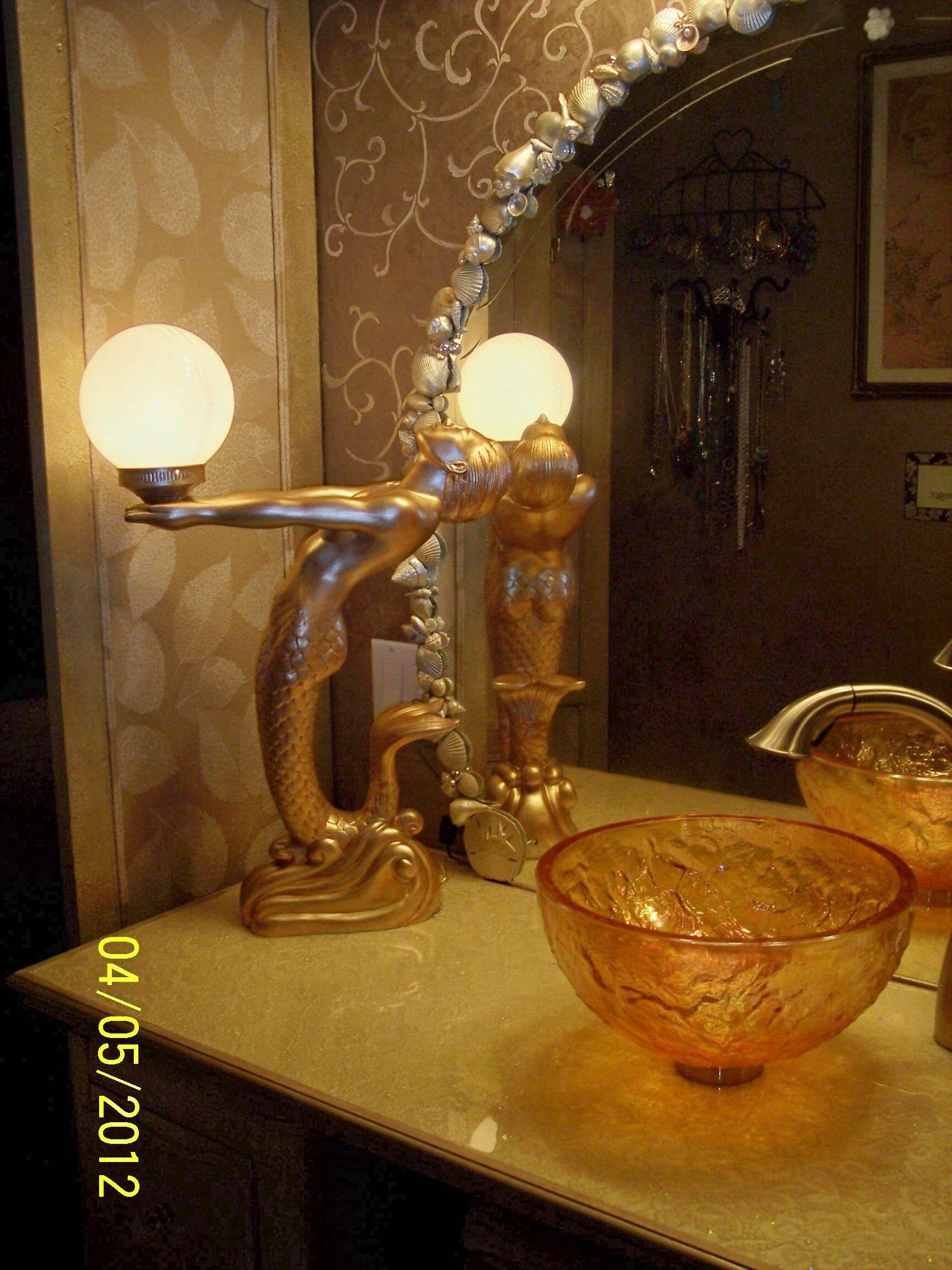 Mermaid table lamp - Mermaid Lamp