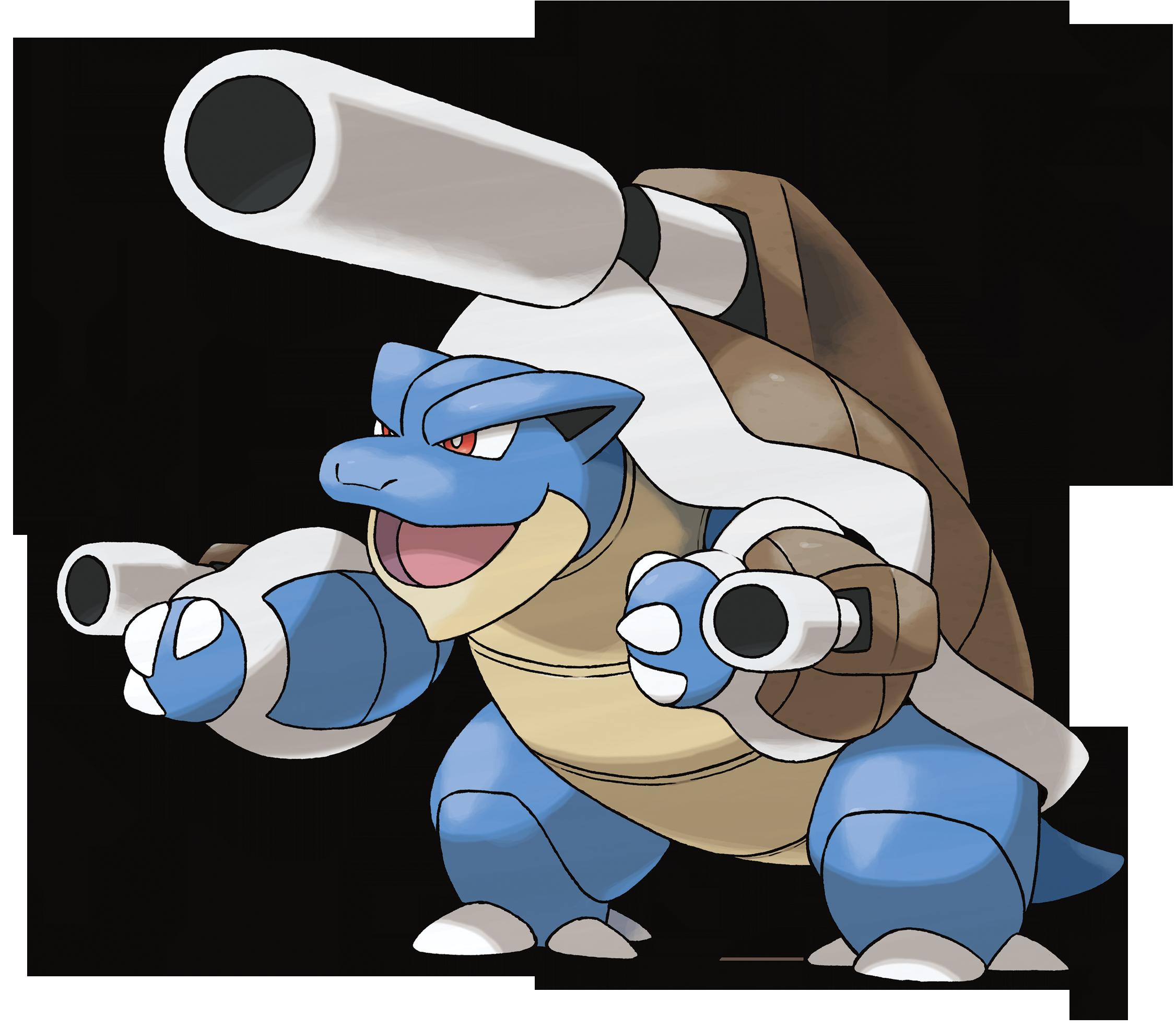 Pokemon Tortank Mega Evolution