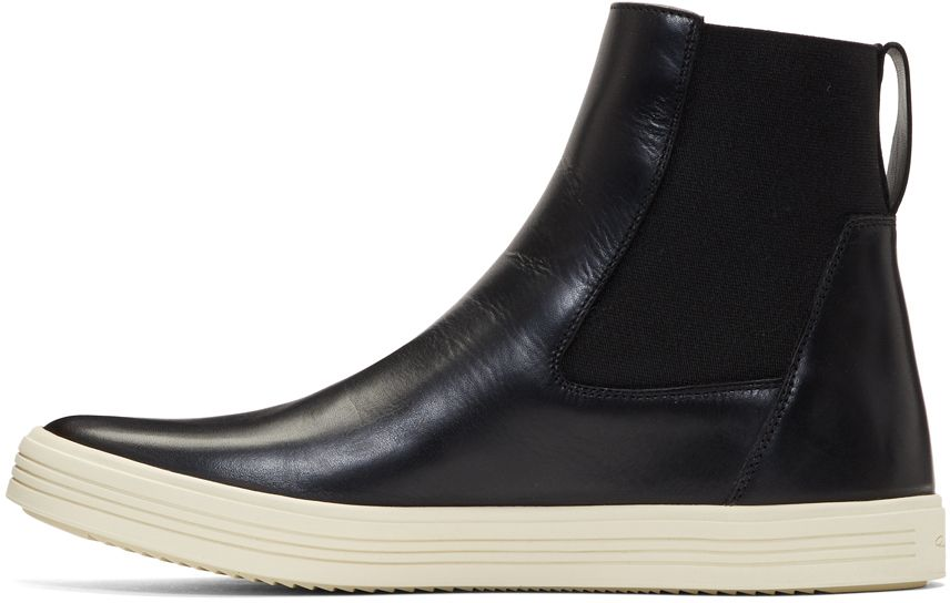 Black Mastodon High-Top Sneakers Rick Owens JX3dj1