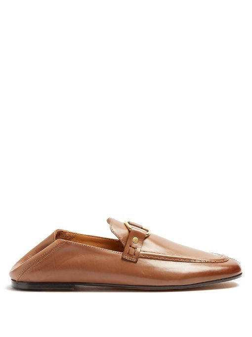 Lowest Price Cheap Online Discount Inexpensive Ferlyn collapsible-heel leather loafers Isabel Marant kOSDvnTFj