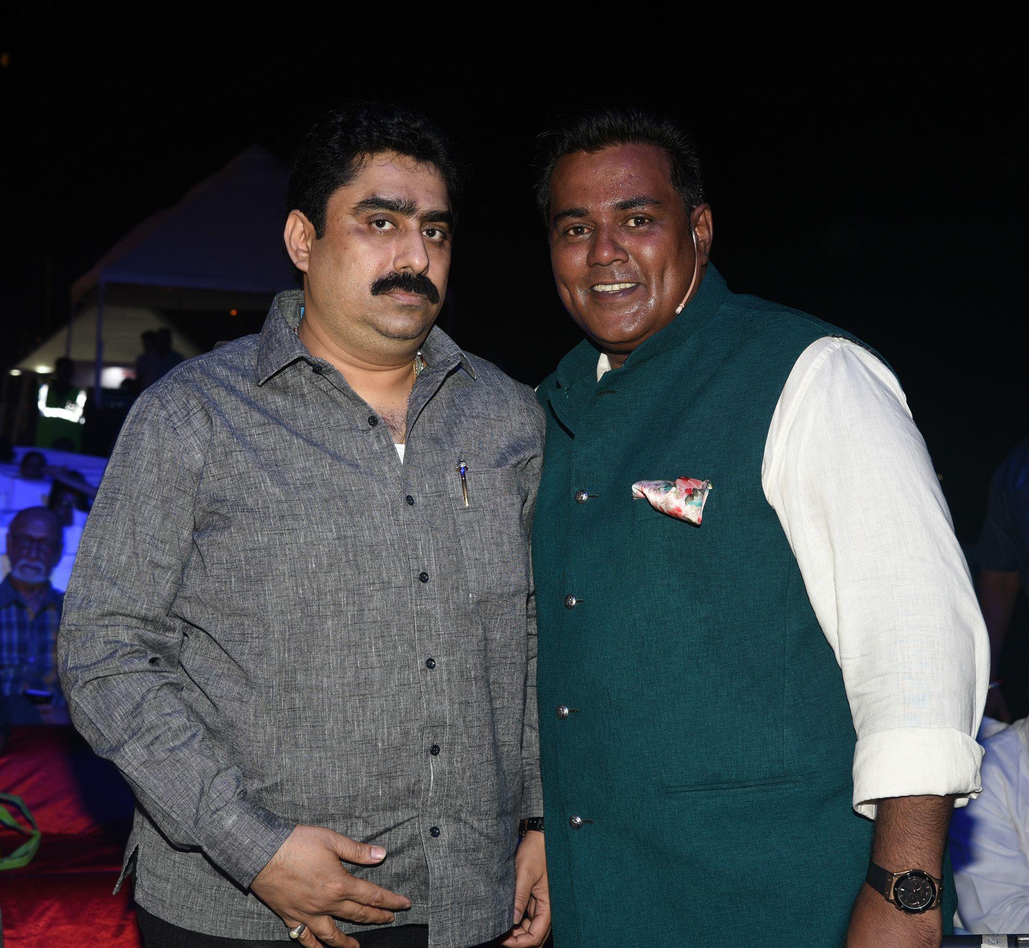 819e5f8076d Sanjay Dina Patil and Meraj Husain at Bhamla Foundation s World Environment  Day celebrations at Carter Road