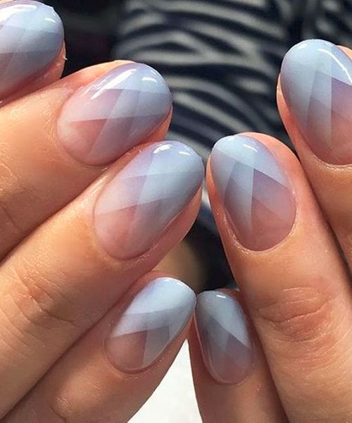 New Light Stripped Nail Art Designs Lights Makeup And Manicure