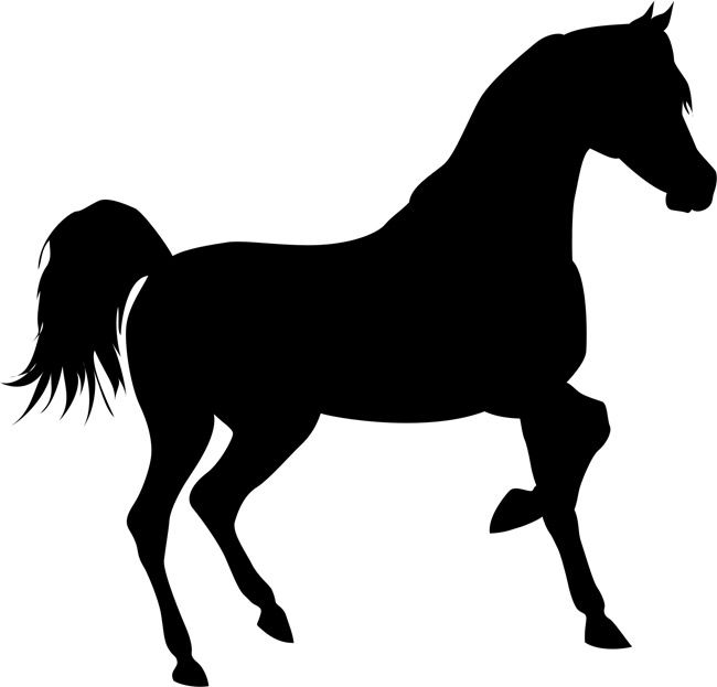 Quickly and easily create a beautiful and unique design anywhere you desire with our Trotting Horse Painting Stencil!