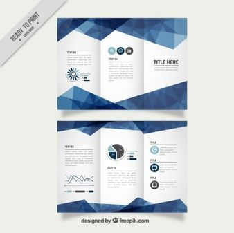 Projeto Do Molde Mnima Folheto Do Negcio  Brochures And Infographic