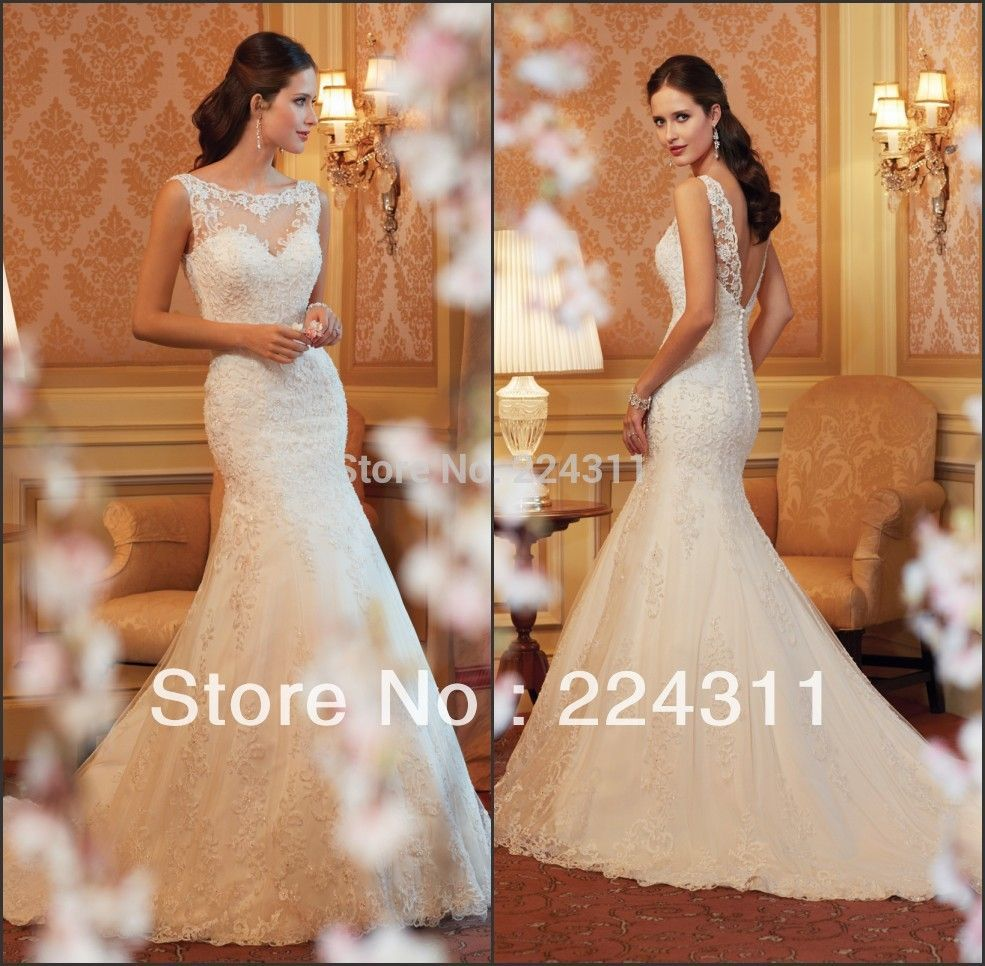 Find more wedding dresses information about custom made new