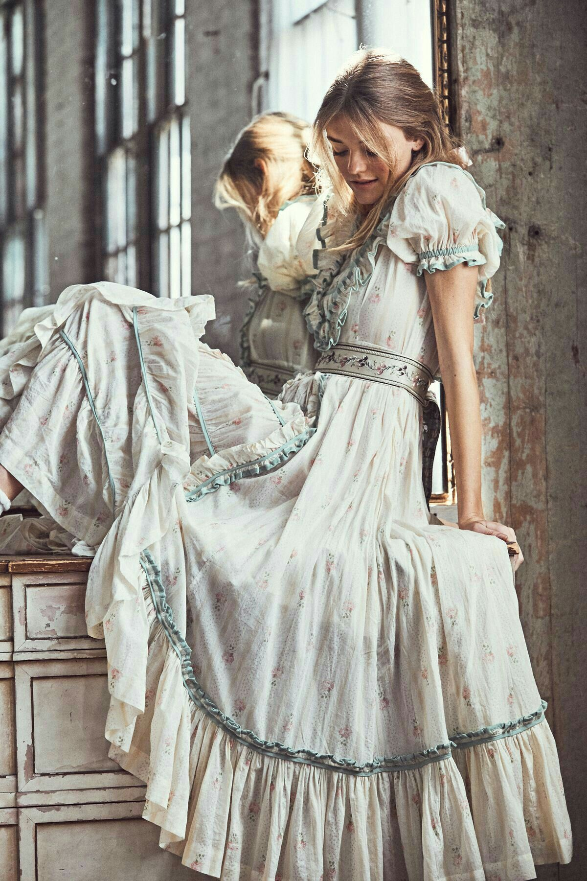 Vintage Boho Style Maxi Dress 9