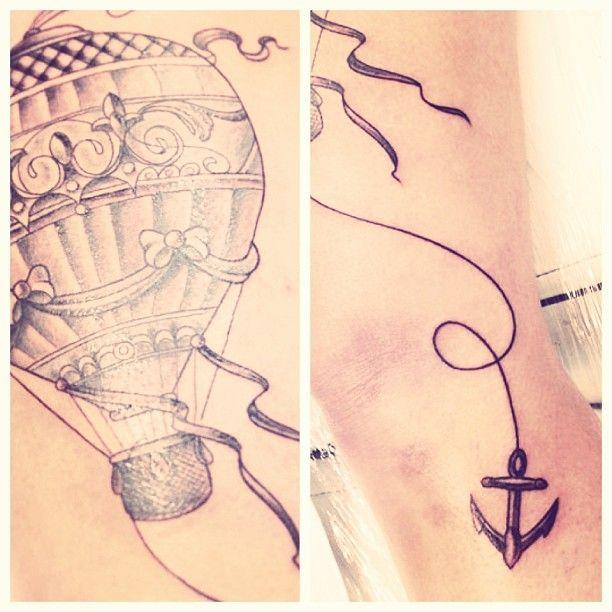 tattoo balão   ideias de fim de semana