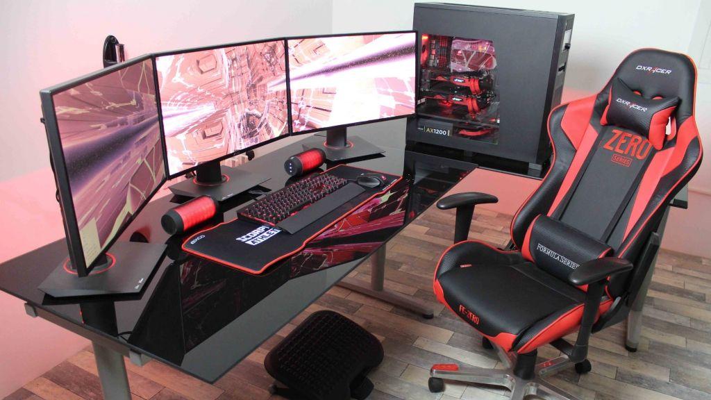 amazon Glas computer Schreibtisch, teure home office Möbel ...