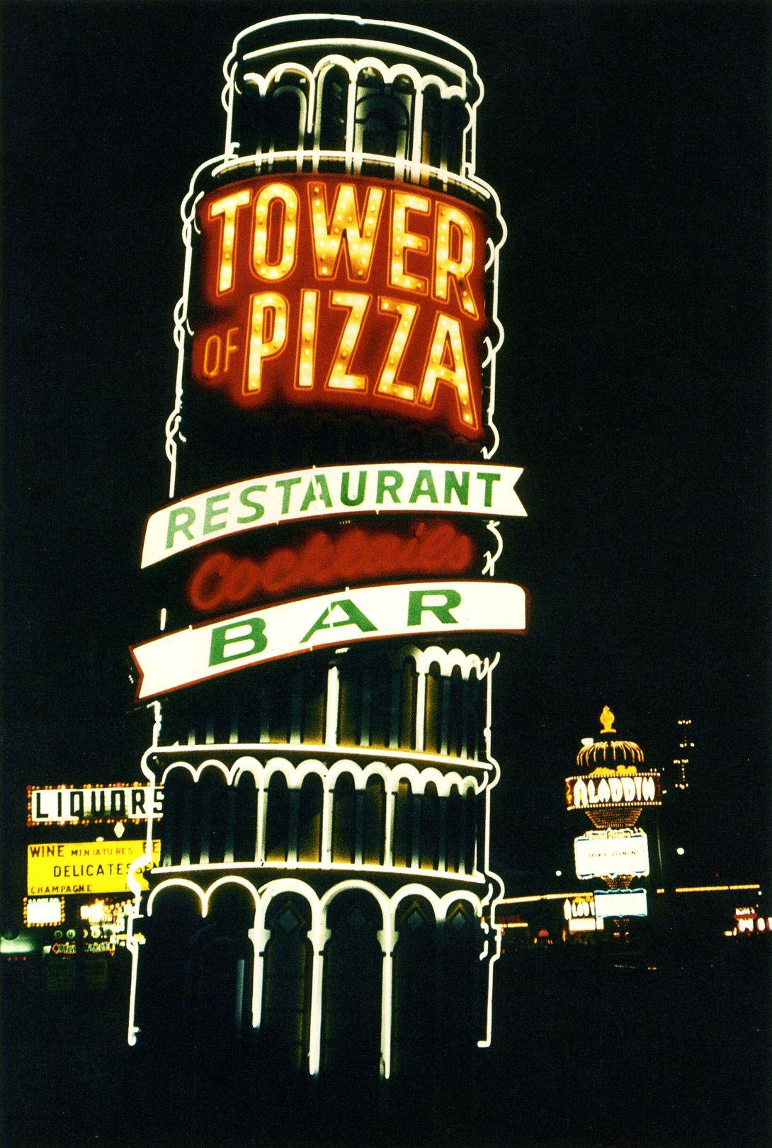 85f3b0737 Tower of Pizza. Las Vegas Strip